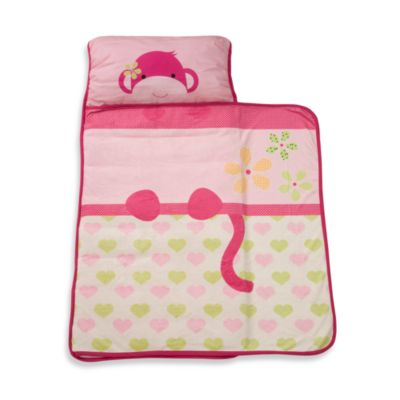 Lambs Amp Ivy 174 Monkey Nap Mat In Pink Bed Bath Amp Beyond