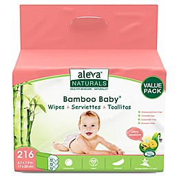 Aleva® Naturals 216-Count Bamboo Baby Wipes in Ultra Sensitive
