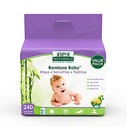 Aleva® Naturals 240-Count Bamboo Baby Wipes