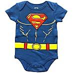 DC Comics™ Size 6M Superman Bodysuit in Blue