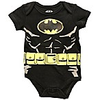 DC Comics™ Size 6M Batman Bodysuit in Black