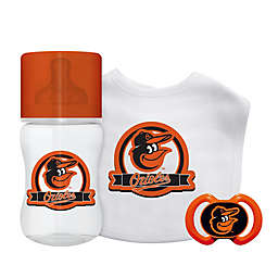 Baby Fanatic® Baltimore Orioles 3-Piece Gift Set