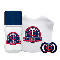Baby Fanatic® Minnesota Twins 3-Piece Gift Set