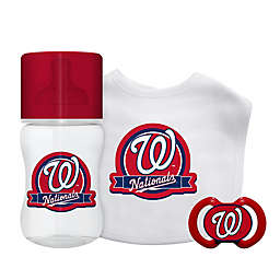 Baby Fanatic® Washington Nationals 3-Piece Gift Set