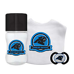 Baby Fanatic® NFL Carolina Panthers 3-Piece Gift Set in Black Blue e1437f4b4