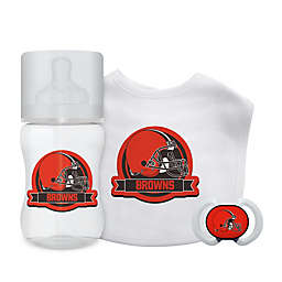 Baby Fanatic® NFL Cleveland Browns 3-Piece Gift Set in Teal/Gold