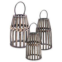 Zuo® Tiritas Lantern in Grey