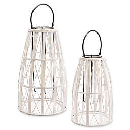 Zuo® Web Lantern in White