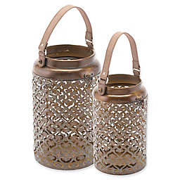 Zuo® Moroccan Lantern in Copper
