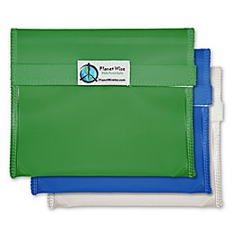 Planet Wise™ Reusable Sandwich Bags in (Set of 3)