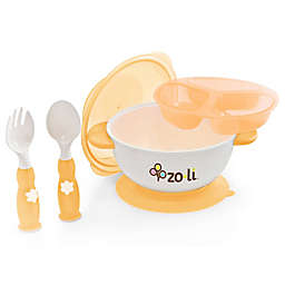 ZoLi 5-Piece Feeding Kit in Orange
