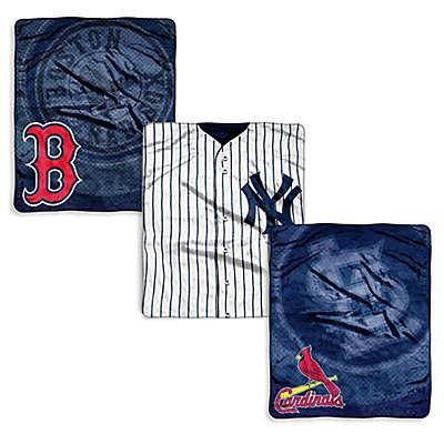 MLB Jersey Raschel Throw Blanket
