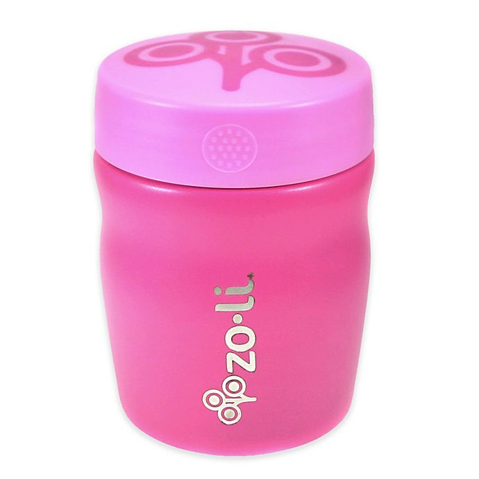 Alternate image 1 for ZoLI 12 oz. POW DINE Insulated Food Jar in Pink