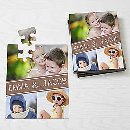 Family Photo Collage 25-Piece Puzzle