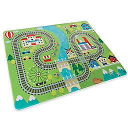 Hey! Play! Train Foam Baby Play Mat