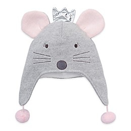 Elegant Baby® Princess Mouse Aviator Hat in Grey