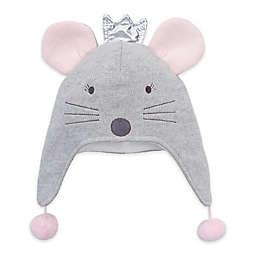 Elegant Baby® Princess Mouse Aviator Hat in Grey