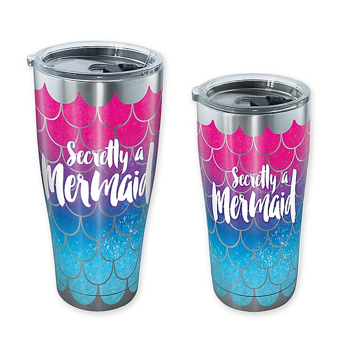 Alternate image 1 for Tervis® Mermaid Tail Stainless Steel Tumbler with Lid
