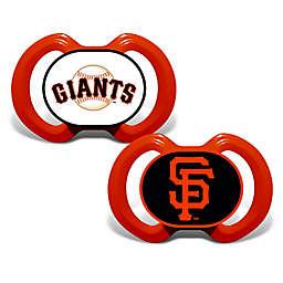 Baby Fanatic® Gen. 3000 MLB San Francisco Giants 2-Pack Pacifiers
