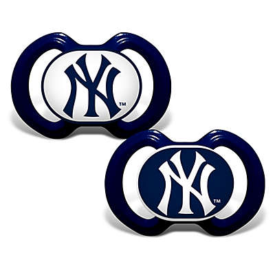 Baby Fanatic® Gen. 3000 MLB 2-Pack Pacifiers