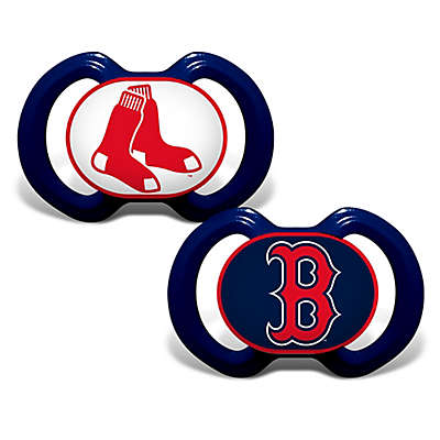 Baby Fanatic® Gen. 3000 MLB Boston Red Sox 2-Pack Pacifiers
