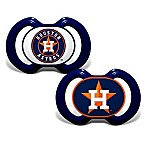 Baby Fanatic® Gen. 3000 MLB Houston Astros 2-Pack Pacifiers