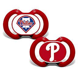 Baby Fanatic® Gen. 3000 MLB Philadelphia Phillies 2-Pack Pacifiers