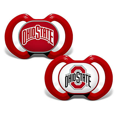 Baby Fanatic® Gen. 3000  Ohio State University 2-Pack Pacifiers