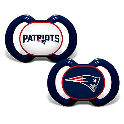 Baby Fanatic® Gen. 3000 NFL New England Patriots 2-Pack Pacifiers