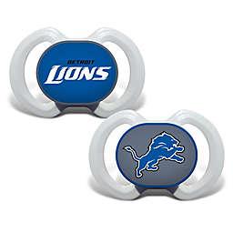 Baby Fanatic® Gen. 3000 NFL Detroit Lions 2-Pack Pacifiers