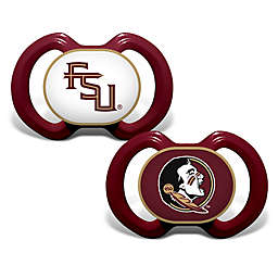 Baby Fanatic® Florida State University 2-Pack Orthodontic Pacifiers in Red/Gold
