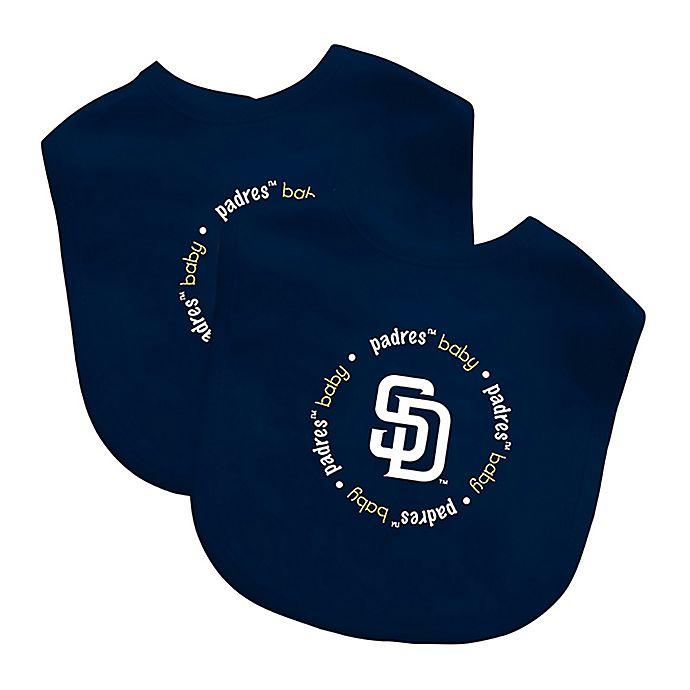 San Diego Padres 2 Pack Baby Fanatic Bibs