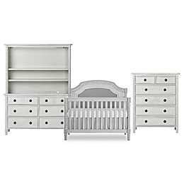 Julienne Nursery Furniture Collection in Antique Grey Mist