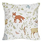 Sweet Jojo Designs Woodland Toile Throw Pillows (Set of 2)