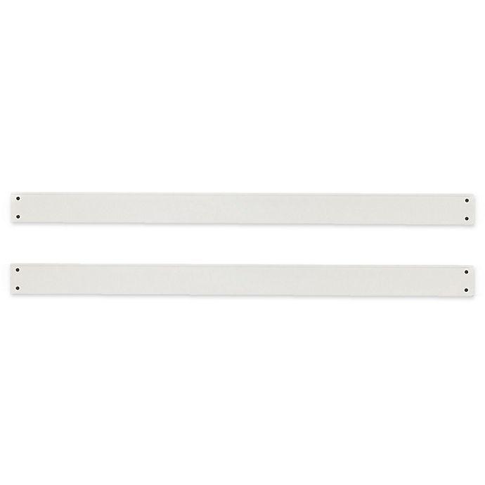Alternate image 1 for Centennial Chesapeake Full Size Bed Rails in White (Set of 2)