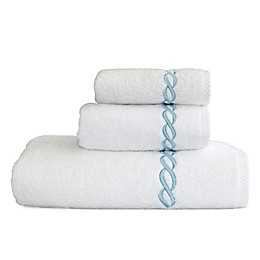 Linum Home Textiiles Soft Twist Cadena Bath Towel Collection