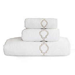 Linum Home Textiles Soft Twist Trellis Bath Towel
