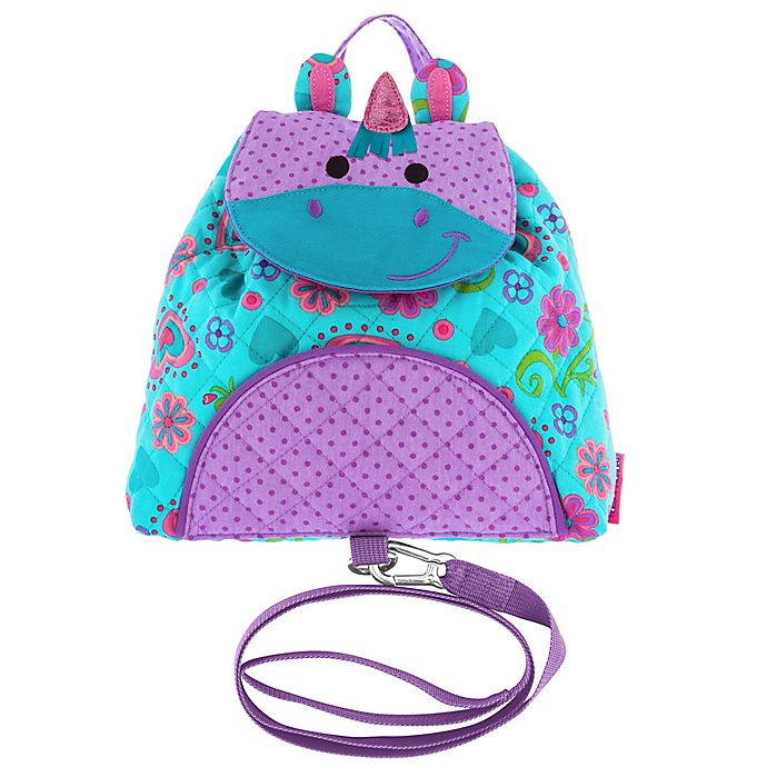 Alternate image 1 for Stephen Joseph® Unicorn Little Buddy Bag with Safety Harness