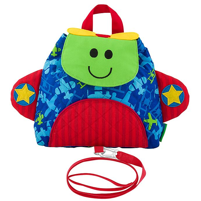 Alternate image 1 for Stephen Joseph® Airplane Little Buddy Bag with Safety Harness