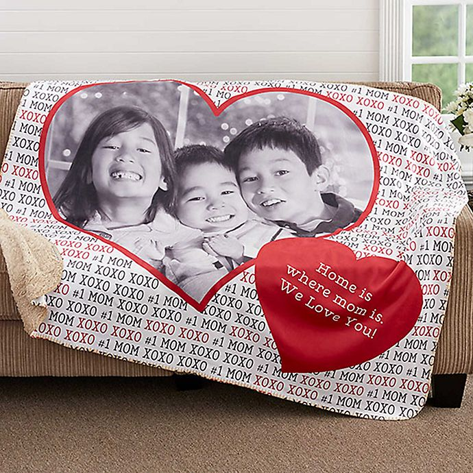 Love You This Much 60 Inch X 80 Inch Premium Sherpa Throw Blanket