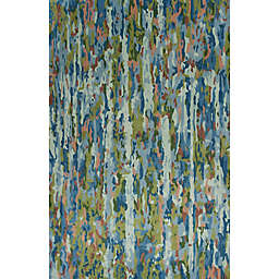 Kas Whisper 7'9 x 9'9 Hand Tufted Area Rug in Sky Blue