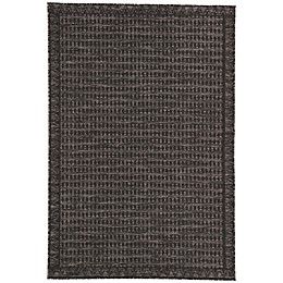 Nikki Chu by Jaipur Living Decora Melon Indoor/Outdoor Rug in Grey