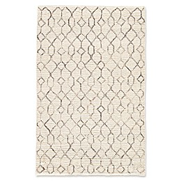 Nikki Chu by Jaipur Living Luxor Leda Asparagus Tribal Rug in White
