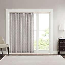 Madison Park Irina Diamond Sheer Rod Pocket Window Curtain Panel (Single)