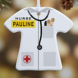 Medical Uniform 1-Sided Christmas Ornament
