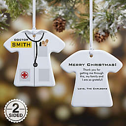 Medical Uniform Christmas Ornament Collection