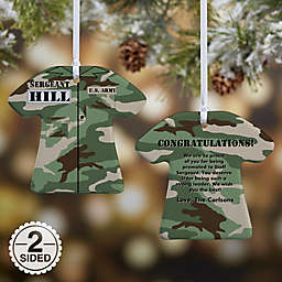 Army Uniform Christmas Ornament Collection