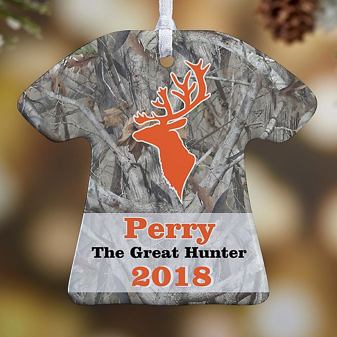 Alternate image 1 for Deer Hunter T-Shirt Christmas Ornament Collection
