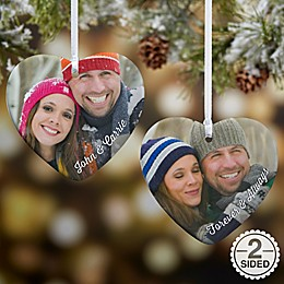 Precious Photo Heart Christmas Ornament Collection