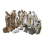 Northlight 11-Piece 11.75-Inch Nativity Set